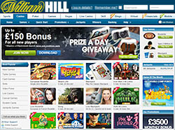 William Hill Casino website