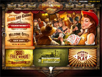 High Noon Casino website